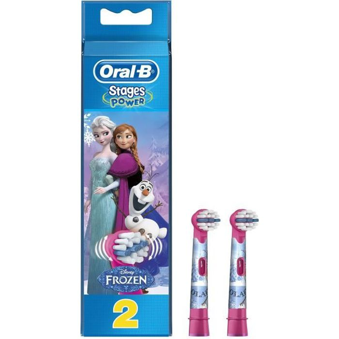 BROSSETTE Oral-B Stages Power Brossettes de rechange avec le