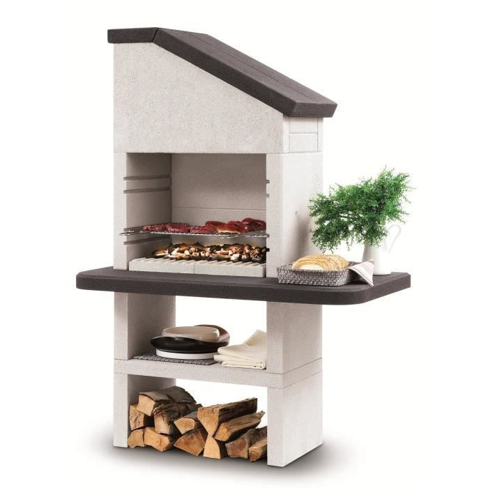 barbecue dubai en marmotech 68 x 40 cm achat vente barbecue barbecue dubai cdiscount. Black Bedroom Furniture Sets. Home Design Ideas