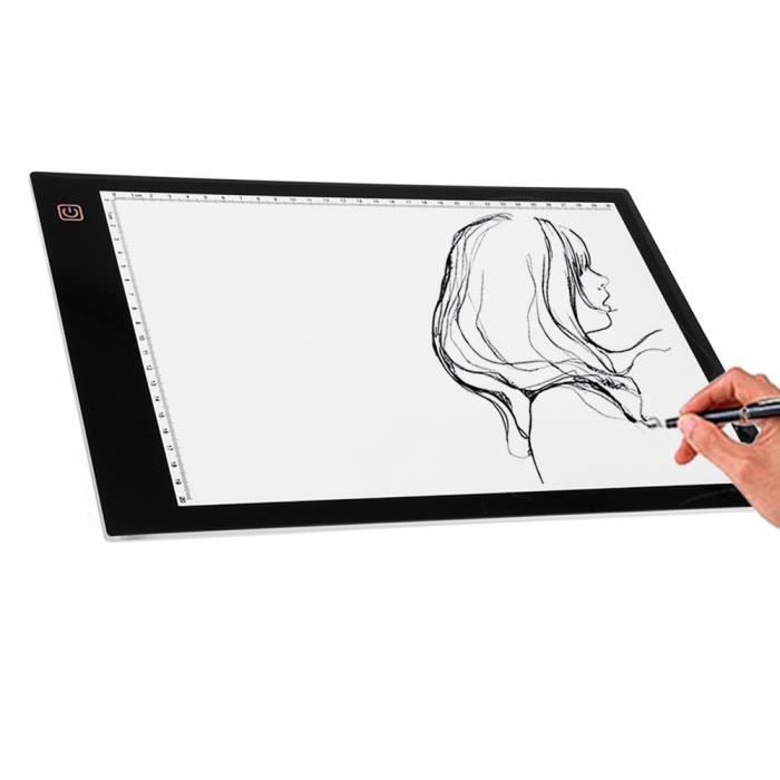vococal led tablette lumineuse a dessin xp pen dc a4. Black Bedroom Furniture Sets. Home Design Ideas