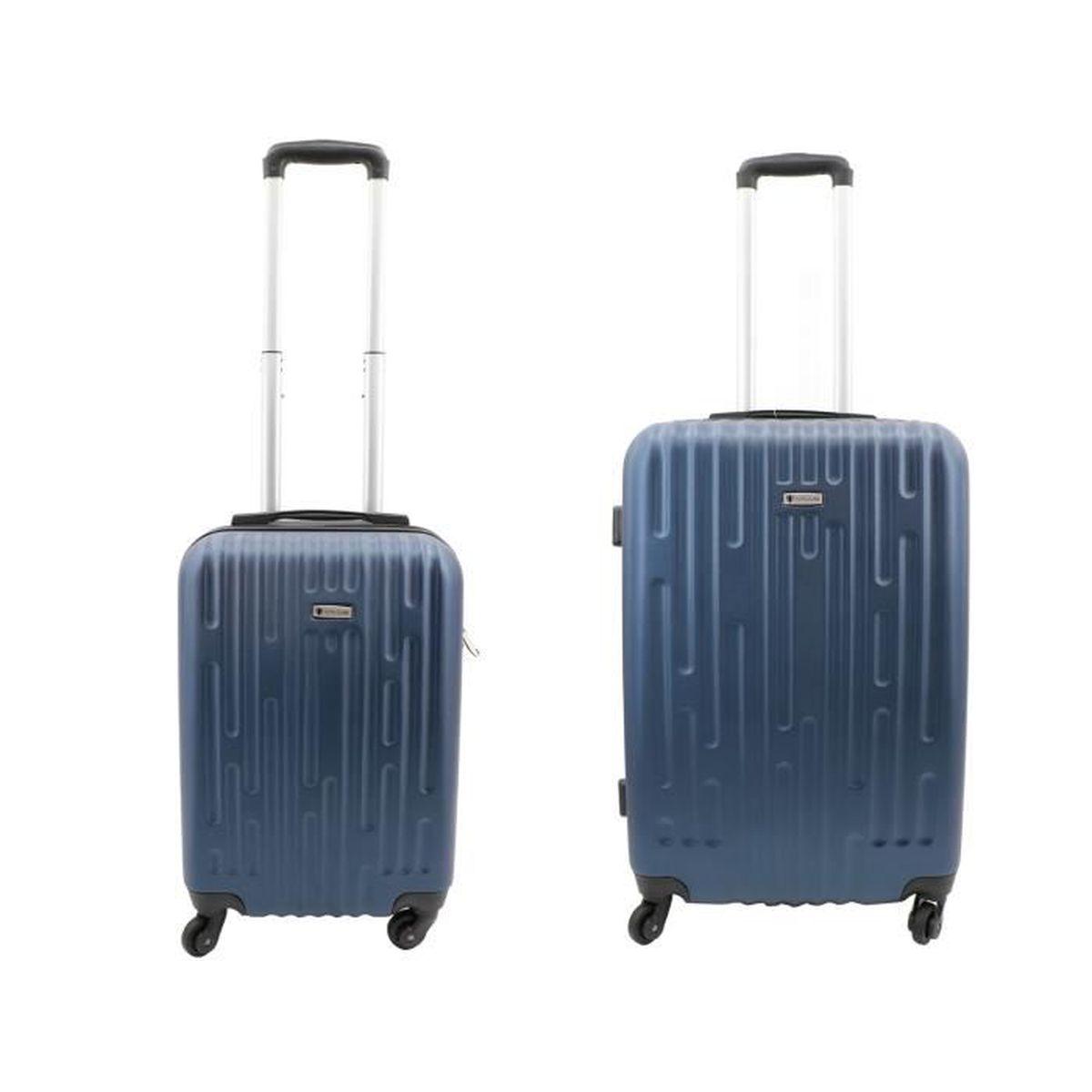 SET DE VALISES Lot de 2 valises Worldline, valise cabine rigides