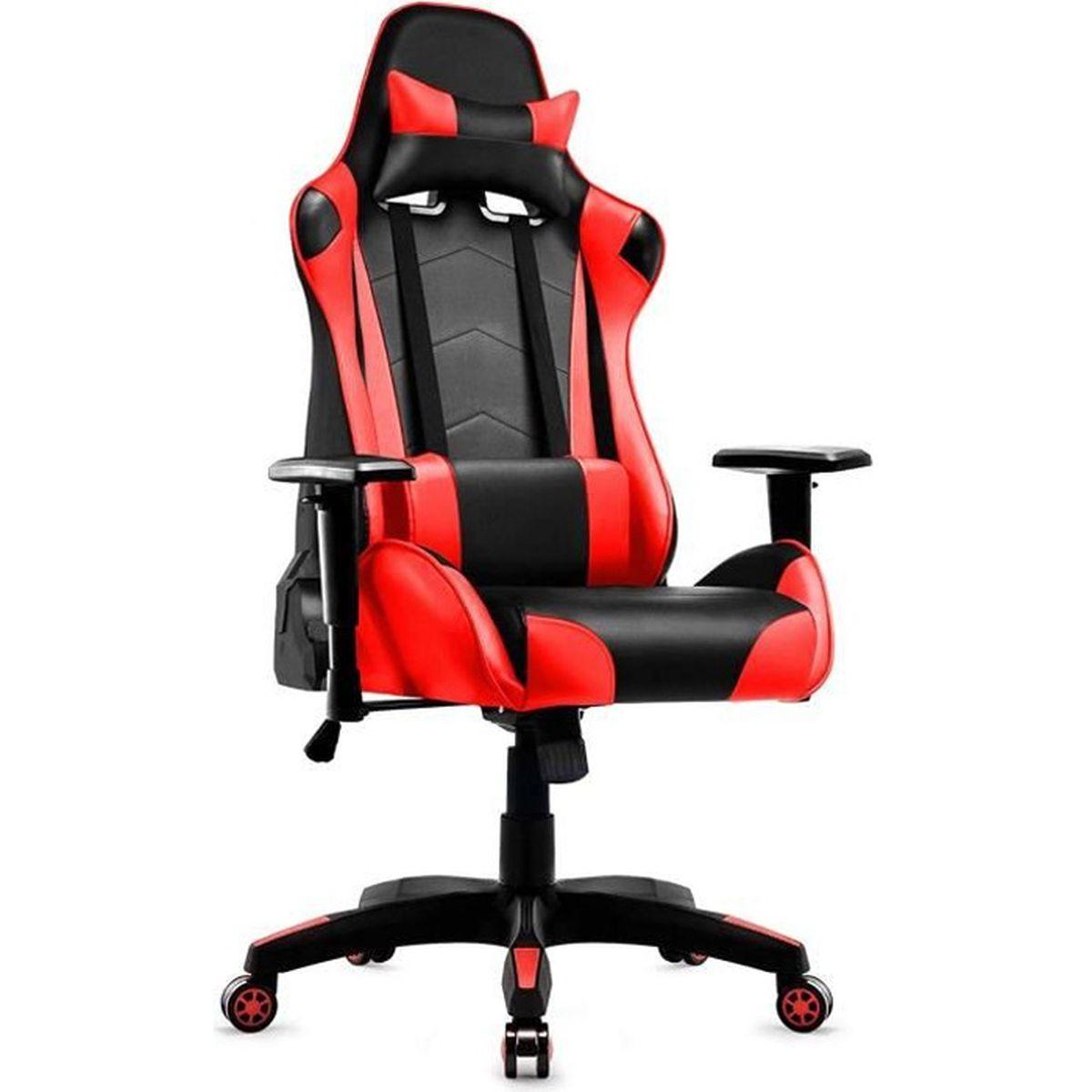 Bureau Gamer Chaise Fauteuil Gaming IWMH Chaise de Racing nw8kP0O