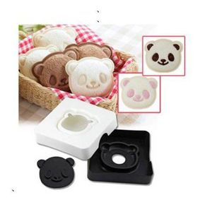 Figurine décor gâteau Panda Mignon Ours Sandwich Poche machine à pain To