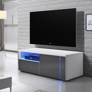MEUBLE TV Meuble TV / Meuble salon - OXY SINGLE - 100 cm - b