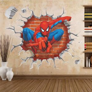 STICKERS 45 * 50cm 3D Popular Spiderman Cartoon Movie maiso