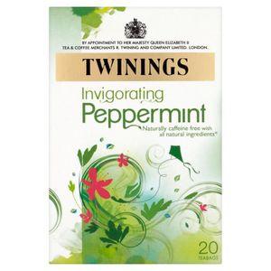THÉ Twinings - Thé vert menthe intense - lot de 4 boît