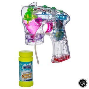 BULLES DE SAVON Pistolet à bulles de savon - Lumineux