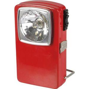 LAMPE DE POCHE EXPERT LINE Torche plate 3 LED métal rouge