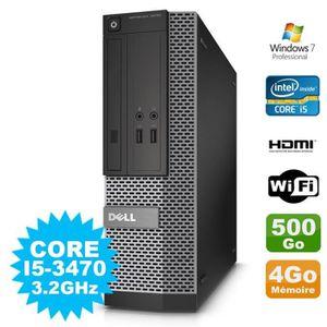 UNITÉ CENTRALE + ÉCRAN PC DELL Optiplex 3010 SFF Intel I5-3470 DVD 4Go 50