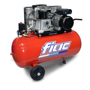 COMPRESSEUR FIAC Compresseur d'air horizontal bicylindre 100 L