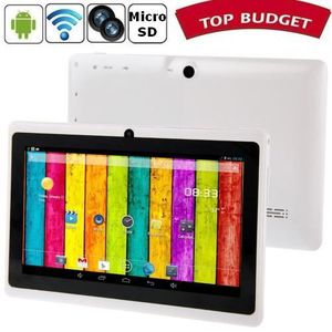 TABLETTE ENFANT Tablette-PDA blanc Tactile 7 pouces Android 4 Wifi