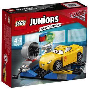 ASSEMBLAGE CONSTRUCTION LEGO® Juniors Cars 3 10731 Le Simulateur de Course