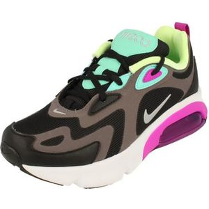 BASKET Nike Air Max 200 GS Running Trainers At5627 Sneake