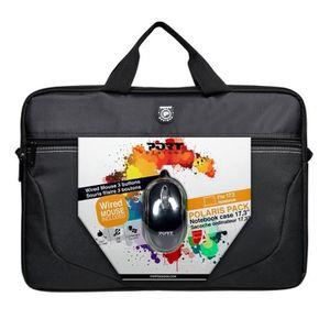 SACOCHE INFORMATIQUE Sacoche Ordinateur Portable 17'3 + Souris Optique