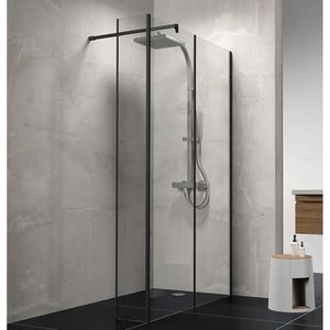 paroi de douche 120 cm achat vente pas cher. Black Bedroom Furniture Sets. Home Design Ideas