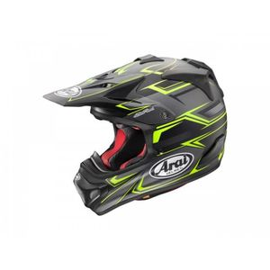 CASQUE MOTO SCOOTER Casque Cross Arai Mx-V Sly Yellow Taille XL