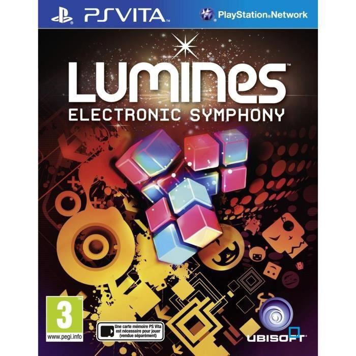 Lumines Jeu PS Vita