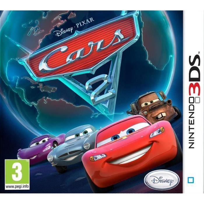 JEU 3DS CARS 2 Jeu 3DS