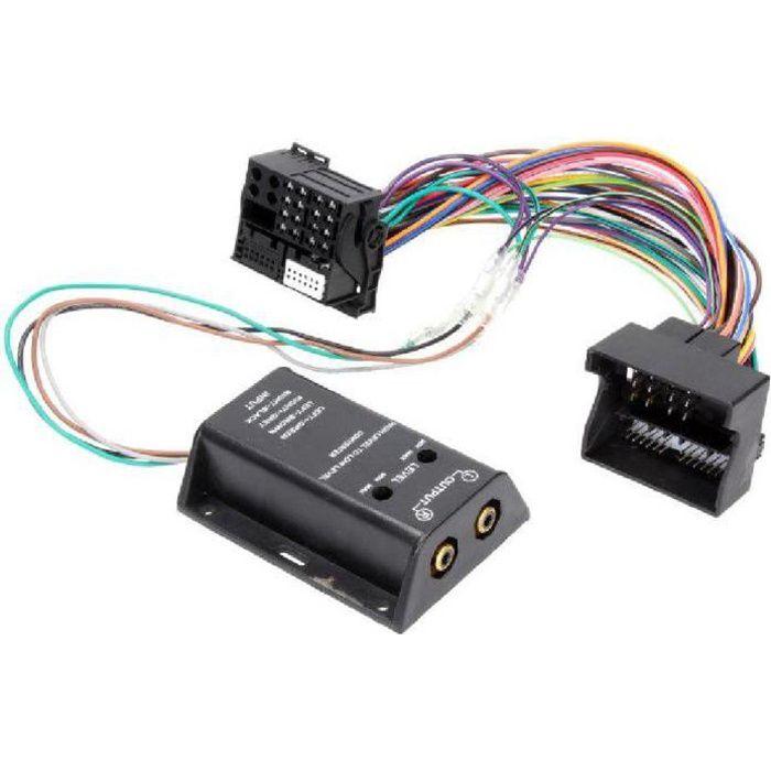 Adaptateur pour ajout amplificateur sur systeme origine - Fakra 2 canaux - BMW serie 1 3 Ford C-Max Focus Mondeo Mercedes Seat Al...