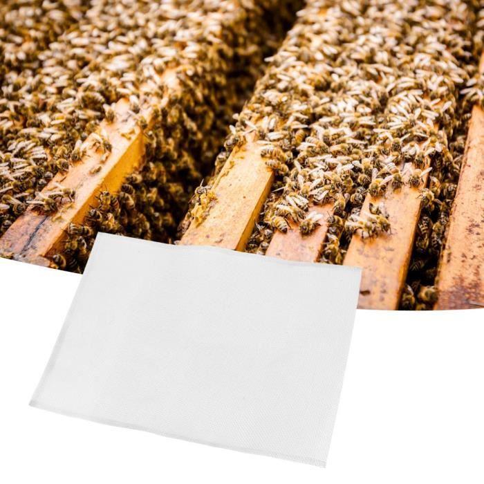 5 Pcs apiculture en acier inoxydable peigne de la ruche gaze maille accessoire apiculteur