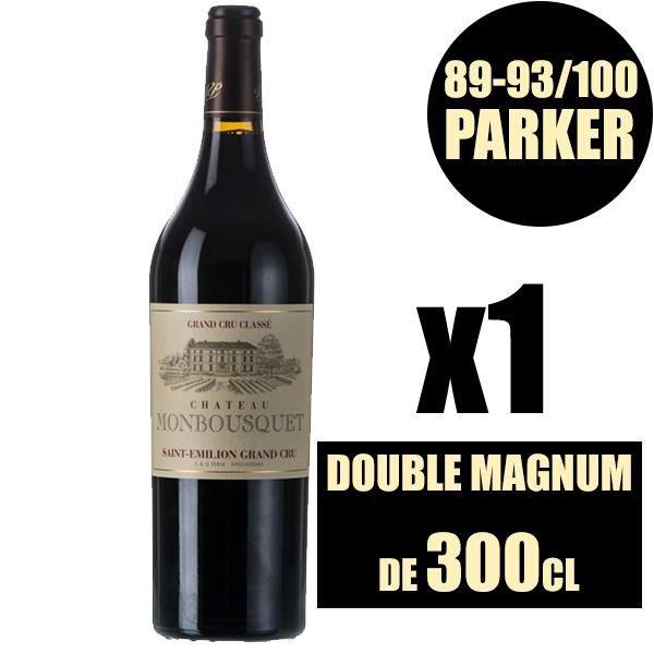 X1 Château Monbousquet 2015 300 cl AOC Saint-Emilion Grand Cru Classé Rouge Vin Rouge