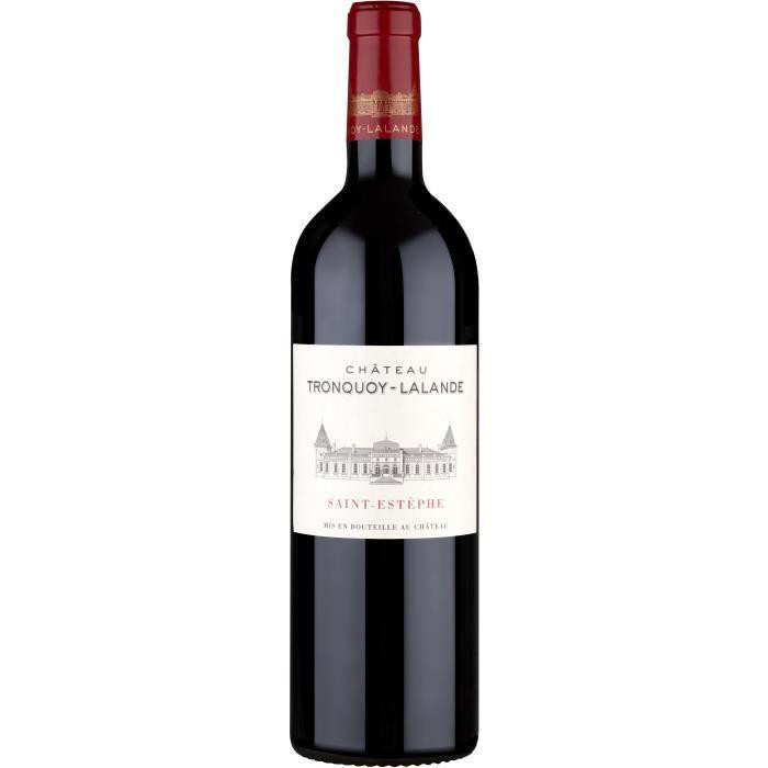 Château Tronquoy Lalande 2014 - Saint Estèphe AOC - vin rouge de Bordeaux - 1 bouteille.