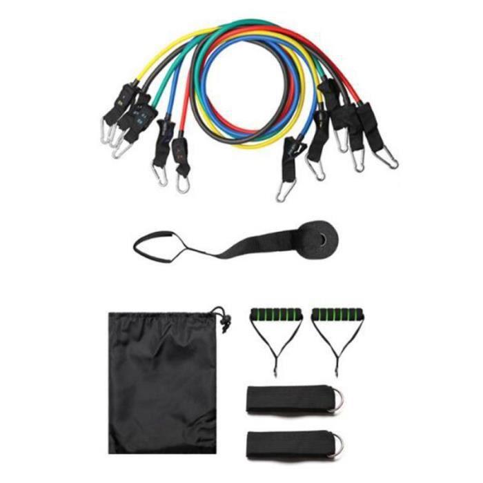 11 pièces multi-fonction rallye dispositif rallye ceinture résistance bande costume bras Force disp - Modèle: 11pcs - HSJSTLDC01125
