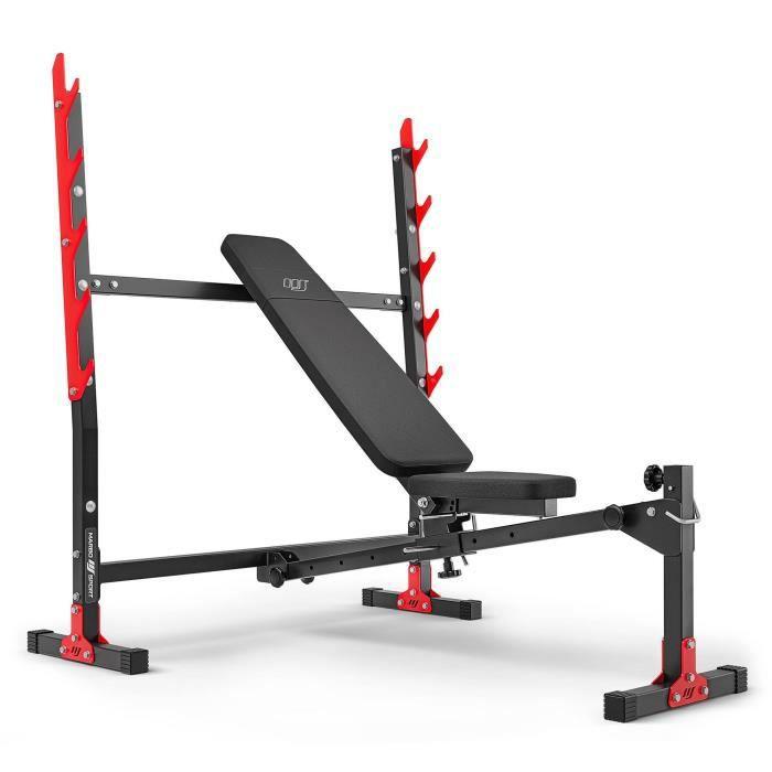 Marbo Sport Banc de musculation réglable avec porte-poids MH-L107 2.0