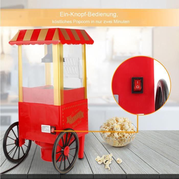 Machine à Pop-corn avec Chariot Professionnelle