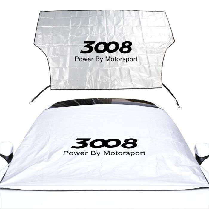 Pare-soleil de parapluie de voiture pour Peugeot 108 206 207 208 307 308 407 3008 RCZ Rifter, accessoires au For 3008