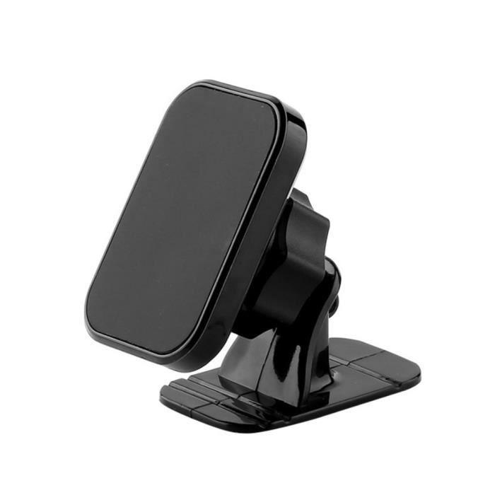 Accessoires Voiture,Support magnétique universel pour téléphone portable dans la voiture, support de montage - Type black
