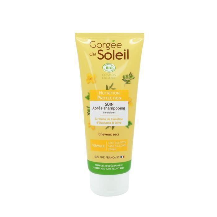 Gorgée de Soleil - Après-shampoing Nutrition et Protection - Certifié Bio Cosmos** - 200 ml