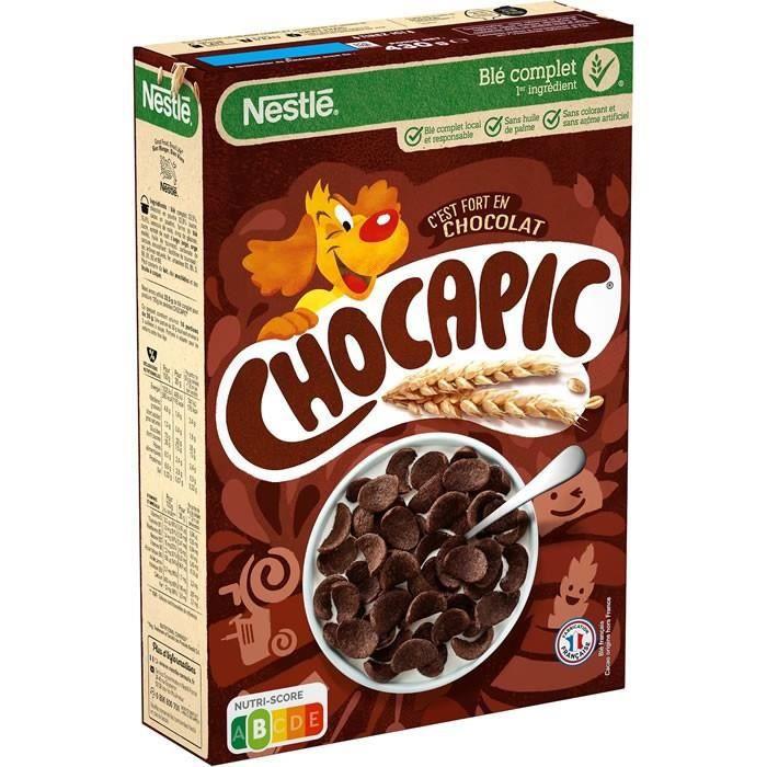 CHOCAPIC : Céréales au chocolat 430 g