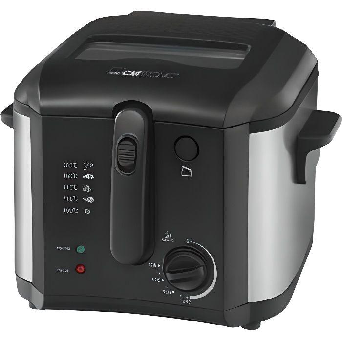 Friteuse 1600 watts FR 3649 - Noir Clatronic