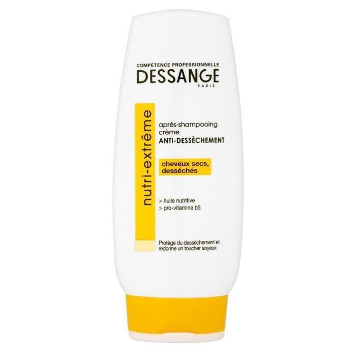 LOT DE 2 - DESSANGE : Nutri-Extrême - Après shampooing anti-dessèchement 200ml,JACQUES DESSANGE,