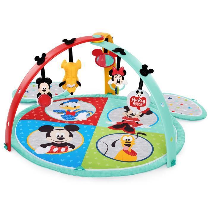 Disney Baby - Mickey Tapis d'éveil Easy Store Playmat™ - Garçon et fille