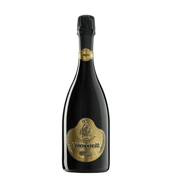 Champagne G.H. Martel Victoire Millésimé 2008 Edition Limitée Black Brut - 75 cl