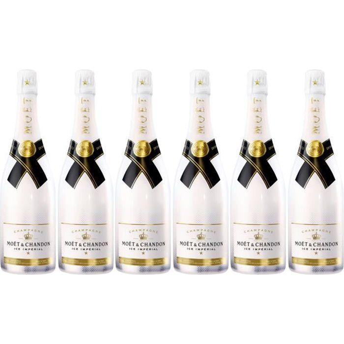 Lot 6 Champagnes Moët & Chandon Moët Ice 75cl