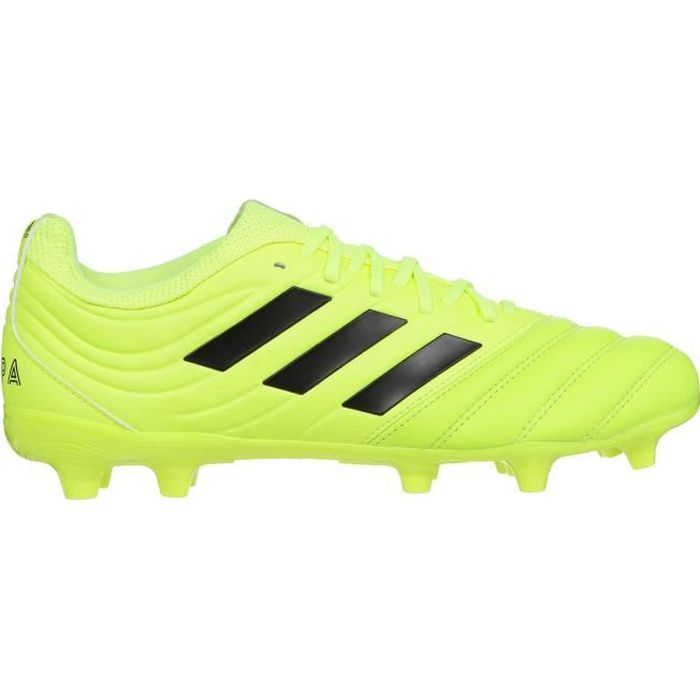 ADIDAS PERFORMANCE Chaussures de Football Copa 19.1 FG - Homme - Jaune/Noir