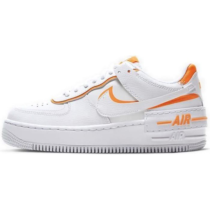 Basket Air Force 1 Shadow Air Force One AF 1 Low Chaussures de Running Femme CI0919-1103
