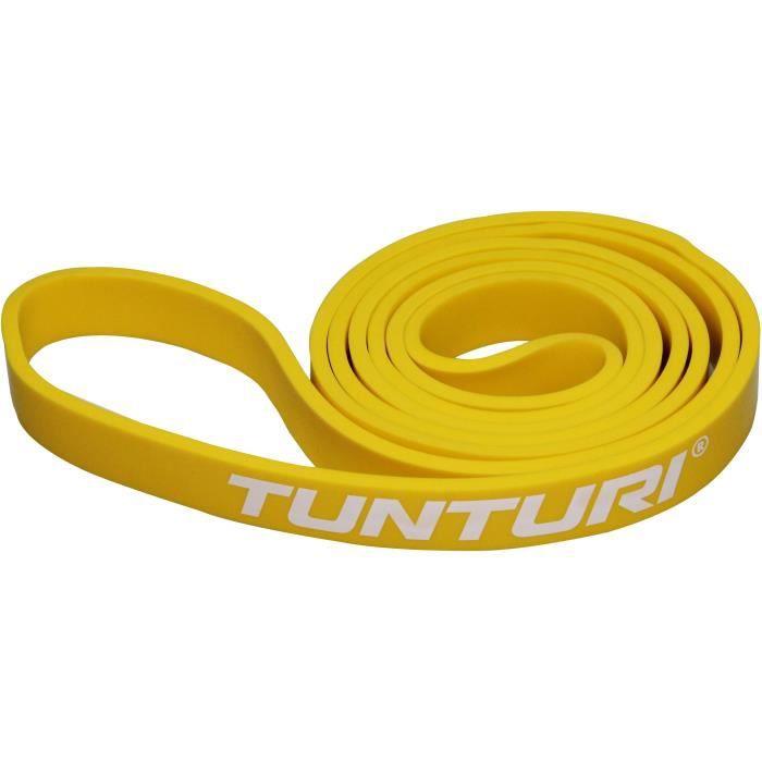 TUNTURI Bande de force powerband léger pour musculation jaune