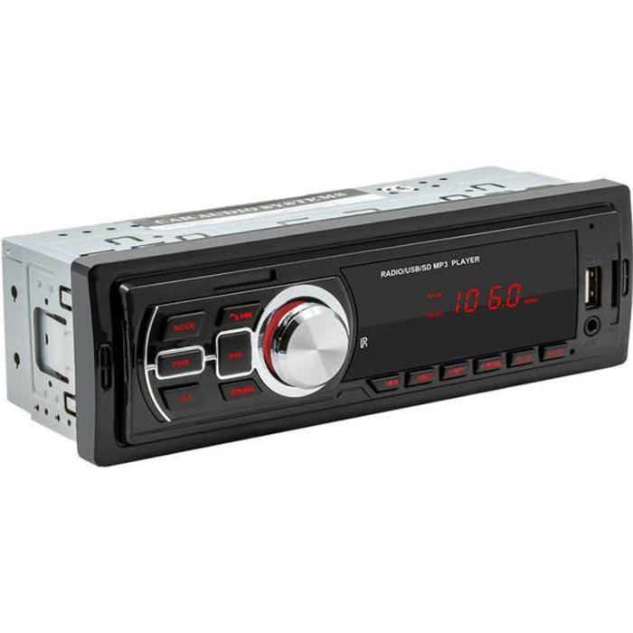 Multimédia Audio Systems Voiture Stéréo CD Port USB Télécommande Sans Fil