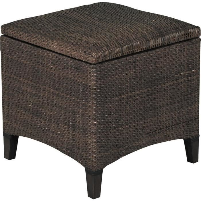 coffre pouf en lame de rotin achat vente pouf poire. Black Bedroom Furniture Sets. Home Design Ideas
