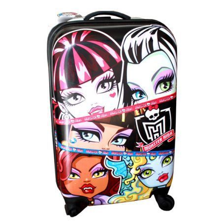 monster high grande valise rigide