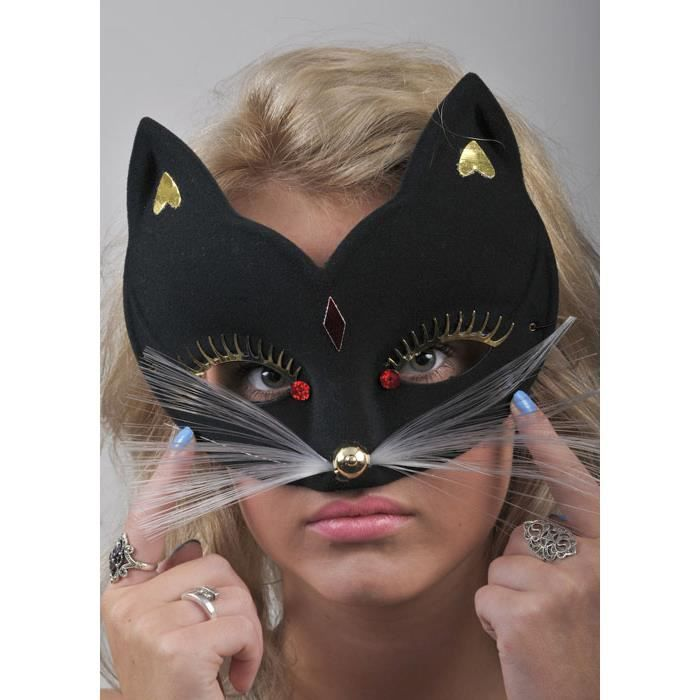 masque de chat deguisement