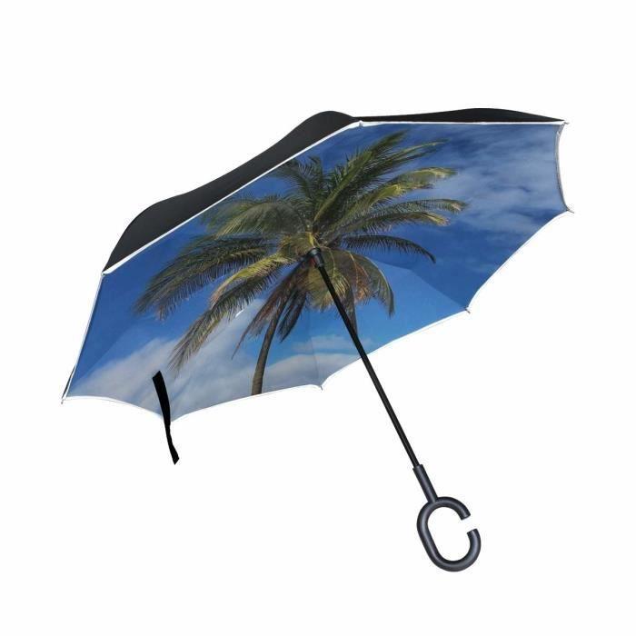 Paradis Grand Hommes Grand parapluie extérieur pliant coupe-vent Non automatique