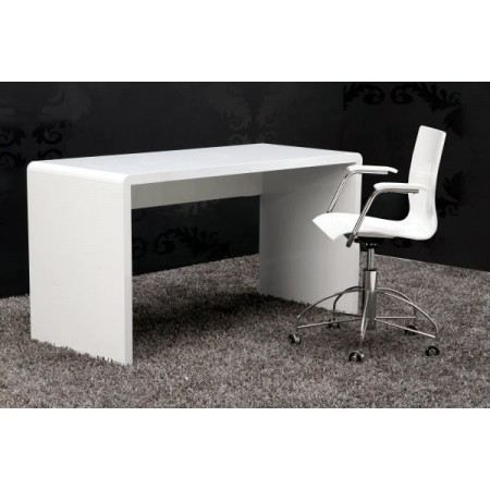 bureau design el gance blanc laqu xl achat vente bureau bureau design el gance xl cadeaux. Black Bedroom Furniture Sets. Home Design Ideas
