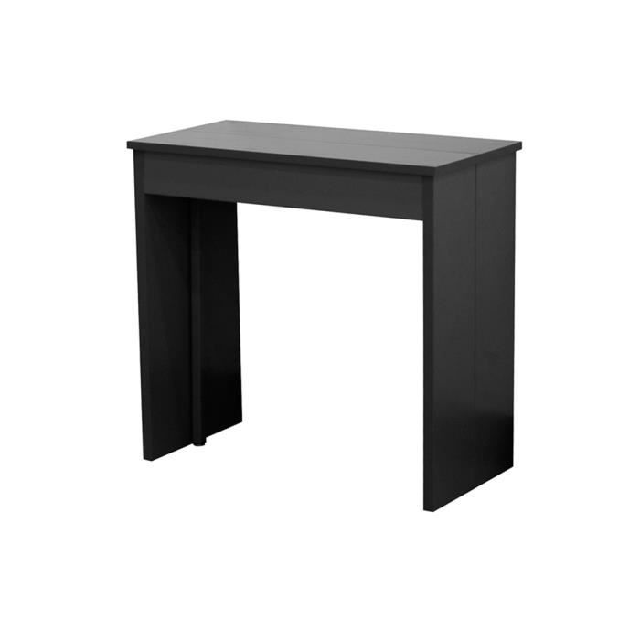 Console table extensible 3 rallonges gris laqu achat vente console co - Console table rallonge ...