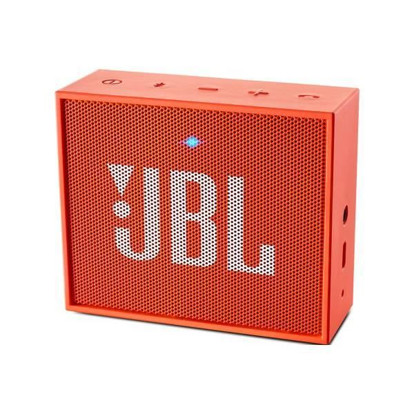ENCEINTE NOMADE JBL GO Enceinte bluetooth portable orange