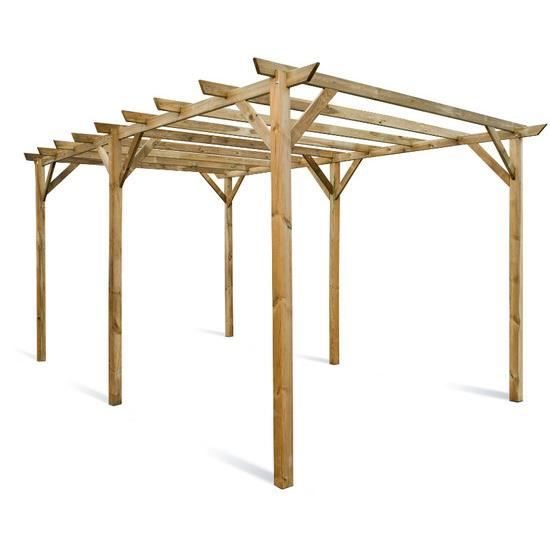 pergola en bois maranello 300 x 500 x 244 cm achat vente pergola pergola en bois maranello 3. Black Bedroom Furniture Sets. Home Design Ideas