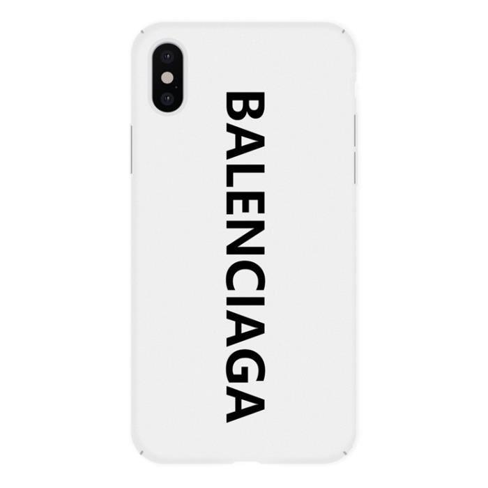 2PCS Balenciaga Coque iPhone 11 Verre